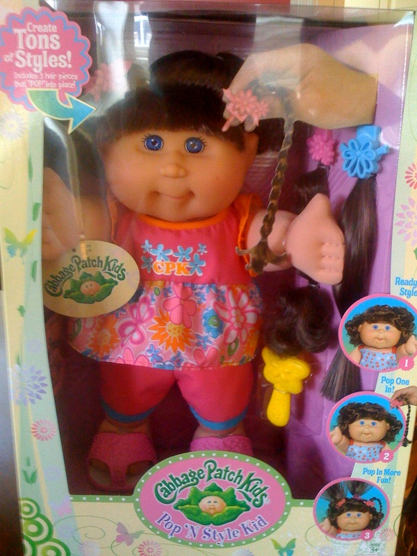 Sign Of The Times Cabbage Patch Kids Now Have Hair Extensions