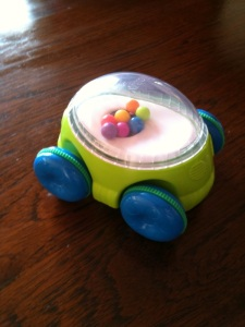 Sassy Pop n' Push Car